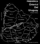 Photo #3005 - Map of Uruguay