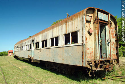 Old train - Photos of Valle Edén - Tacuarembo - URUGUAY. Image #16468