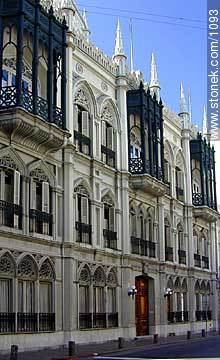 Provincial Government - Photos of the Old City - Department and city of Montevideo - URUGUAY. Image #1093