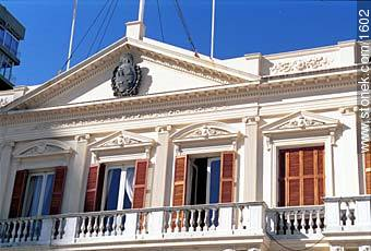 Palacio Estevez - Photos of Plaza Independencia - Department and city of Montevideo - URUGUAY. Image #1602