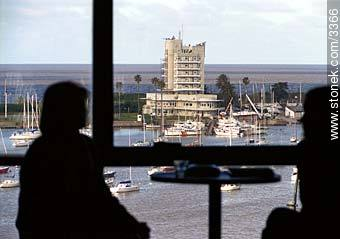 Yatch Club view. - Photos of Buceo quarter - Department and city of Montevideo - URUGUAY. Image #3366