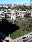 Photo #1077 - Plaza de la Bandera, British Hospital, Pereira Rosell Hospital.