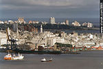 Photo #1021 - Port-Downtown-Old City-Punta Carretas(View from Cerro de Montevideo)