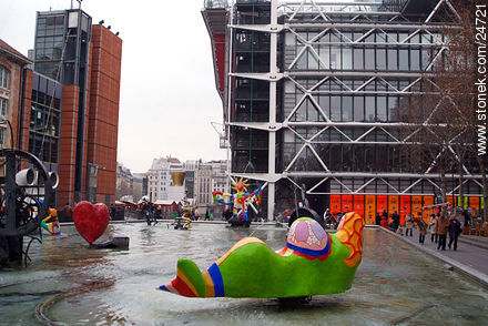 - Photos of the Pompidou Center and surroundings - Paris - FRANCE. Image #24721