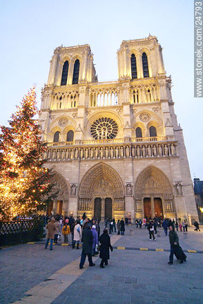 - Photos of the Notre Dame Cathedral, FRANCE. Image #24793
