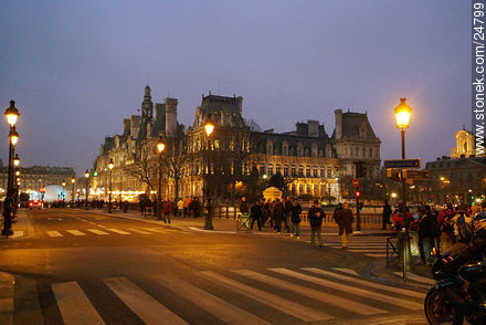 - Photos of the Paris City Hall - Hôtel de Ville - Paris - FRANCE. Image #24799