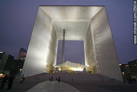 Photos of the area of La Défense - Paris - FRANCE. Image #25014