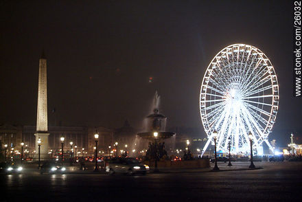 Photos of Place de la Concorde and surroundings - Paris - FRANCE. Image #26032