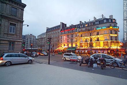 Photos of  Lyon Station (Gare de Lyon) - Paris - FRANCE. Image #26142