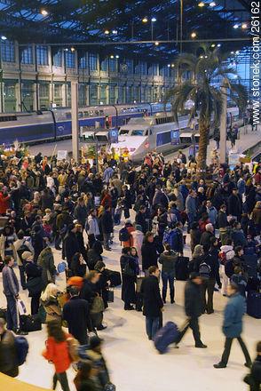Photos of  Lyon Station (Gare de Lyon) - Paris - FRANCE. Image #26162