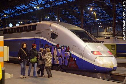 Photos of  Lyon Station (Gare de Lyon) - Paris - FRANCE. Image #26172