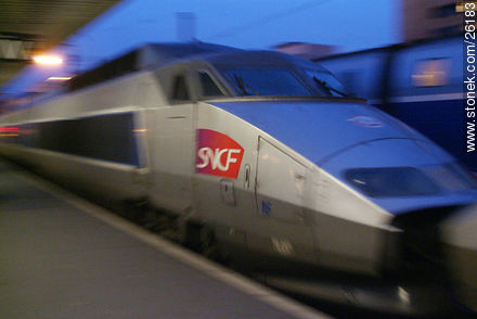 Photos of  Lyon Station (Gare de Lyon) - Paris - FRANCE. Image #26183