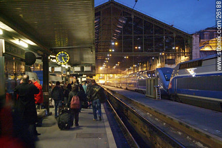 Photos of  Lyon Station (Gare de Lyon) - Paris - FRANCE. Image #26188