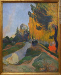 Paul Gauguin (1848-1903).  Les Alyscamps, Arles. - Foto #25696