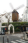 Photo #25826 - Le Moulin de la Galette. Rue Girardon. Rue Lepic.