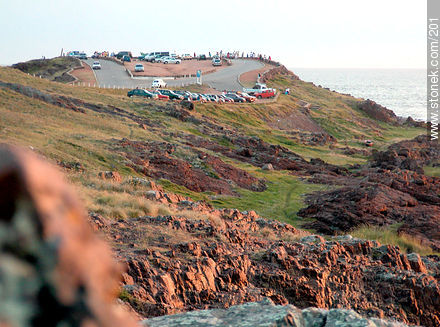 Viewpoint in Punta Ballena - Photos of Solanas and Casapueblo at Punta Ballena - Punta del Este and its near resorts - URUGUAY. Image #201