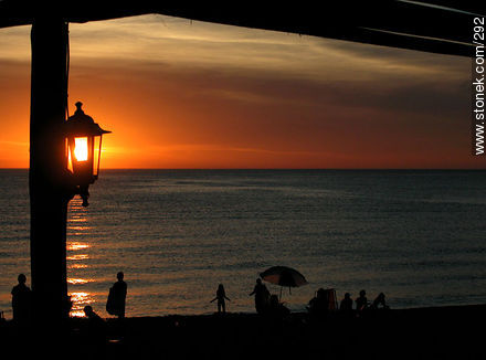 Photographs of beaches of Punta del Este - Punta del Este and its near resorts - URUGUAY. Image #292