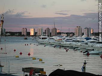 Photographs of the port of Punta del Este - Punta del Este and its near resorts - URUGUAY. Image #2164