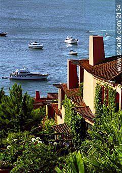 Photos of Solanas and Casapueblo at Punta Ballena - Punta del Este and its near resorts - URUGUAY. Image #2134