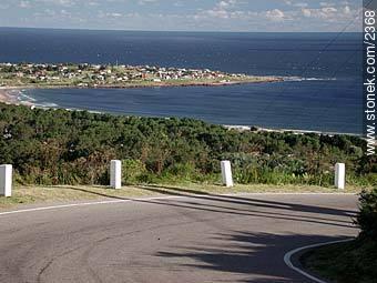Punta Colorada from Cerro San Antonio. - Photos of Piriapolis - Department of Maldonado - URUGUAY. Image #2368