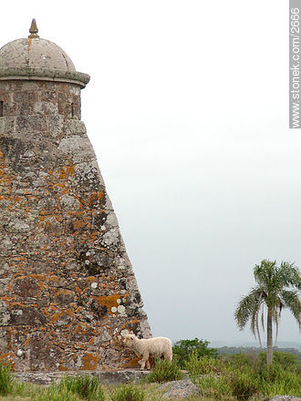 Restored near 1930. - Photos of San Miguel fortress - Department of Rocha - URUGUAY. Image #2666