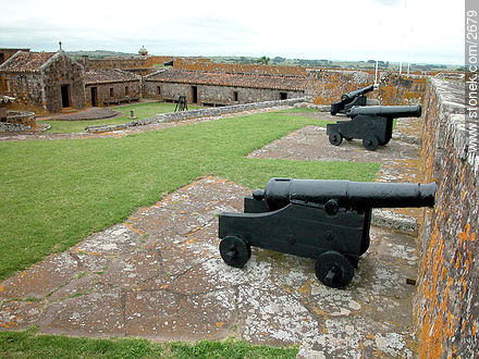 Inside the fortress, maintained by the Army. - Photos of San Miguel fortress - Department of Rocha - URUGUAY. Image #2679