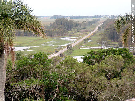 Road to Chuy. - Photos of San Miguel fortress - Department of Rocha - URUGUAY. Image #2681