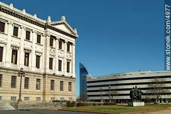 Photos of the ANTEL complex - Department and city of Montevideo - URUGUAY. Image #4977