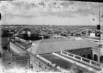 View from the Vilardebó hospital tower - Photos of Old Montevideo - Department and city of Montevideo - URUGUAY. Image #5076